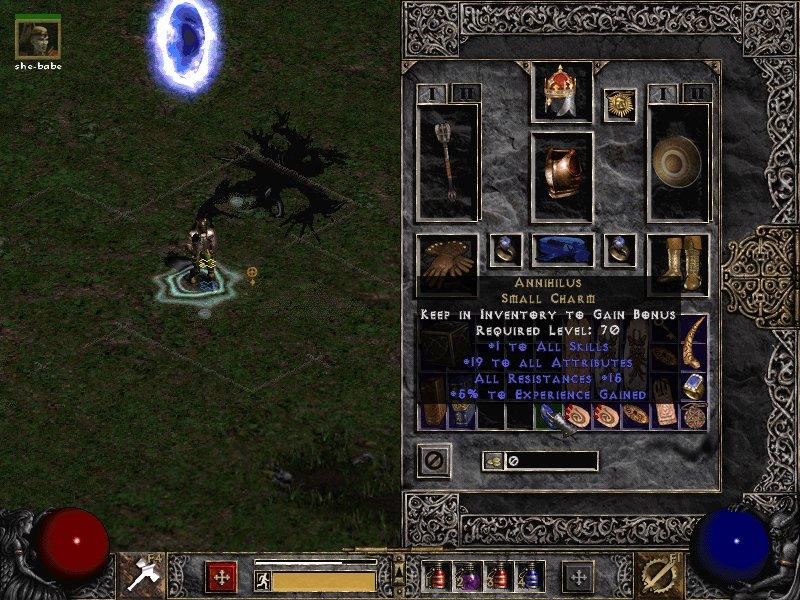 Скачать на мобильный телефон Diablo II (3 in 1) Lord of Destruction