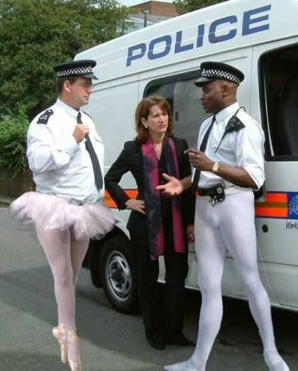 שוטרי בלט