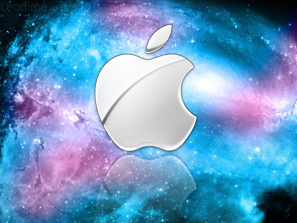 רקע של apple