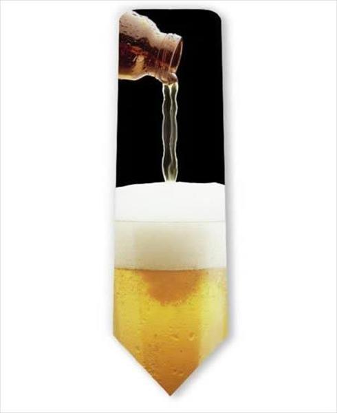 עניבה בצורת בירה