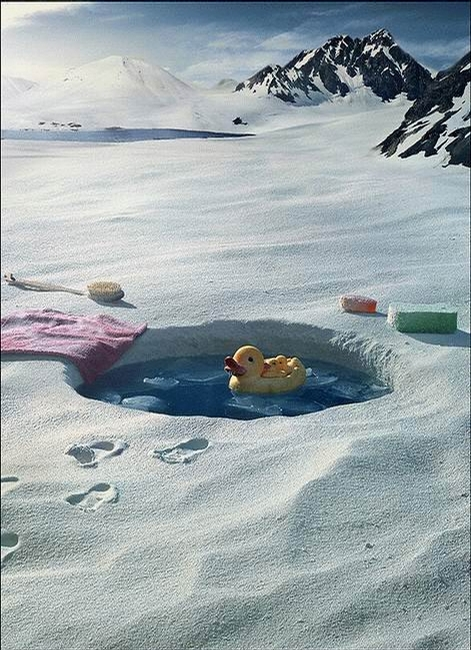 אמבטיה אסקימואית
