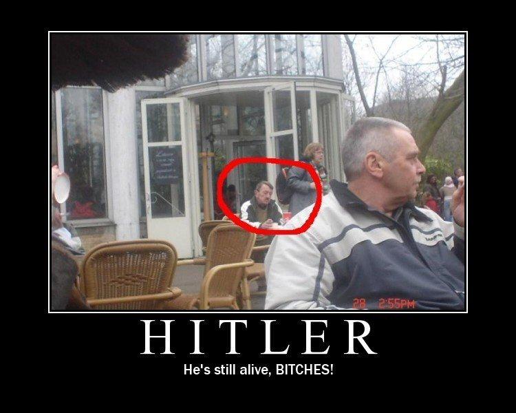 היטלר חי?
