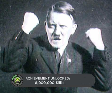 היטלר משחק באקס בוקס