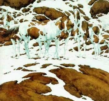 כמה סוסים יש בתמונה?