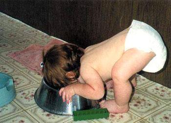 תינוק רעבתן