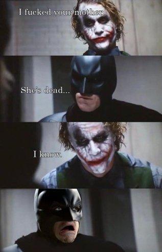 ג'וקר נגד באטמן