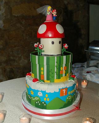 עוגת מריו