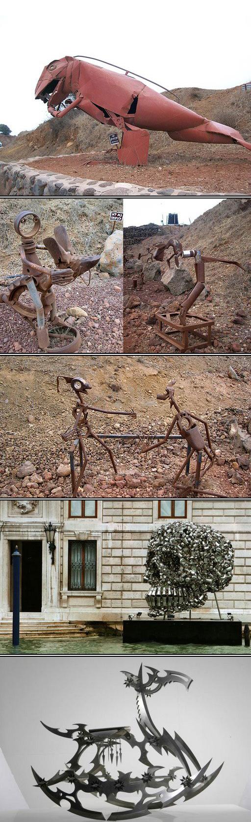 פסלים ממתכת