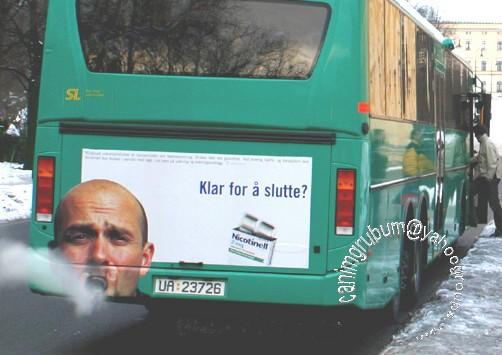 אוטובוס מעשן