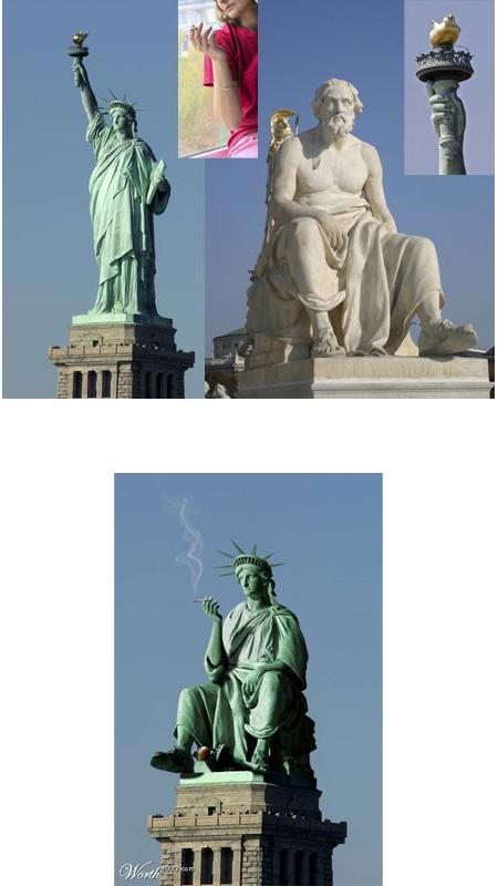 שילוב פסלים