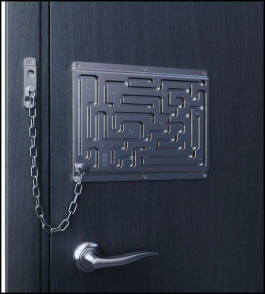 נראה אתכם פורצים את הדלת הזאת