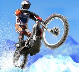 אופנוע על הקרח