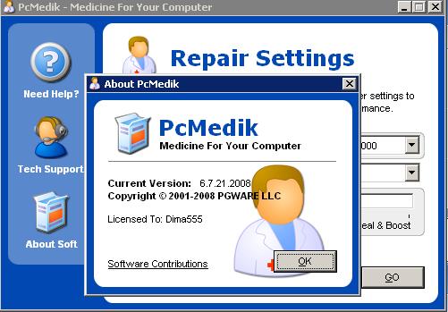 PCMedik - השבת ההגדרות של המחשב