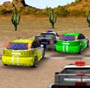 מרוץ מכוניות במדבר
