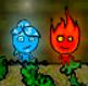 בן האש ובת המים - מקדש היער