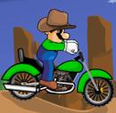 לואיג'י על האופנוע