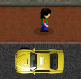 סימס נהג מונית